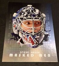 STEVE MASON 2008-09 In The Game Between The Pipes MASKED MEN Silver Version #23