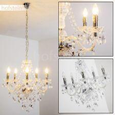 Kristall Kronleuchter Hänge Pendel Lampe Klassisch Wohn Schlaf Ess Zimmer Antik