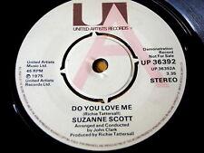 """SUZANNE SCOTT - DO YOU LOVE ME  7"""" VINYL DEMO"""