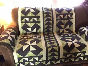 Quilted Love Seat Cover
