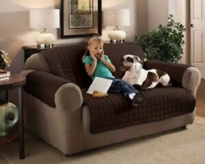 New Innovative Textile Solutions Microfiber Love Seat Furniture Protector