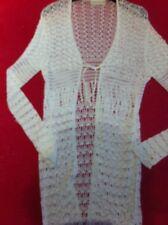 Karen Millen Crochet Cardigan White Size 3