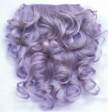 "6"" x 10"" INTEGRATION HAIRPIECE CURLY HAIR EXTENSIONS MINI SPOT FILLER CLIP IN"