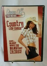 Dance Off the Inches - Country Line Dance (DVD, 2009)
