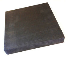 "GRAPHITE BLOCK PLATE SHEET BLANK SAWCUT GRADE 2915 1"" X 3"" X 3"""