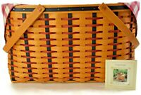 Longaberger Basket - Block Party - 2002 - #12421