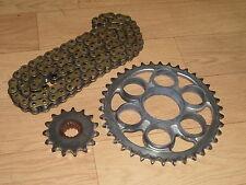 Ducati 1098 S 1098-S tricolore partie portées 525 RK Chain & Sprocket Set 2007-2008