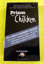 Prison For Children ~ New VHS Movie Screener Promo Demo Video Tape ~ John Ritter