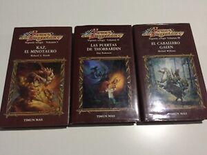 Héroes de la Dragonlance segunda trilogia