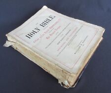 Alexander D Strausbaugh (1858-1915) & Minerva E Doll (1876-1951) Family Bible