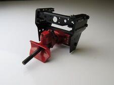 Anhängerkupplung Metall rot mit Rahmenendstück 1:14/1:16  - ttm10006
