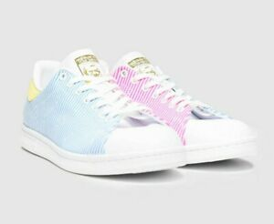 Adidas Pale Blue Stan Smith PRIDE trainers SIZE 12 MENS Sold out in store!