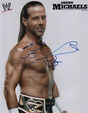 "Shawn Michaels WWE ""Wrestlemania"" WWF Signed Autographed 11x14 F"