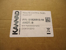 Kannad RC200 Kit Remote Control Panel S1820513-18 Switch and Connector