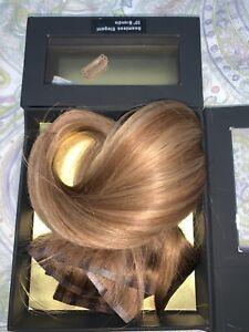 """Foxy Locks Elegant Seamless 20"""" Clip In Human Hair Extensions Brondie - 160g"""