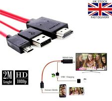 HDMI TV Adapter to MICRO USB MHL Cable For Samsung Galaxy S3 S4 S5 Note 2 3