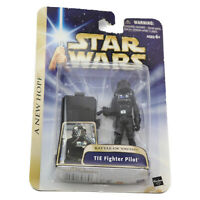 Star Wars Saga Phase III A New Hope 04-14 TIE Fighter Pilot Battle of Yavin
