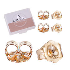 14k Gold Filled 4.6mm Butterfly Clutches Earring Backs  10pcs  #6229-1