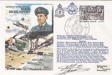 HAsp7b Lt.Gen Baron Michael Donnet. Set of 4 Different Pilot Signed F104G Pilots