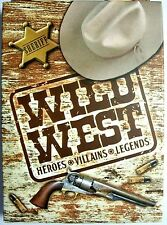 Wild West Heroes Villains and Legends Playing Cards