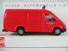 """Busch 43789 Ford Transit Kasten (1986) """"Berufsfeuerwehr Weimar"""" 1:87/H0 NEU/OVP"""