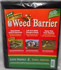 4' X 8' All Purpose Weed Barrier Garden Yard Fabric No Weeding Earth Friendly