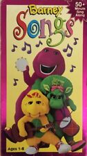 Barney Songs(VHS,1995)TESTED-RARE VINTAGE COLLECTIBLE-SHIPS N 24 HOURS