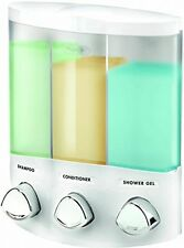 Shampoo + Soap Dispenser For Showers Bathroom Guest Room Motel Hotel Pool House