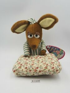 "Sniff B2408 Moomin Pillow Banpresto 1993 Plush 7"" Toy TAG Doll japan"