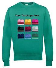 Cotton Crew Neck Personalised Hoodies & Sweats for Women