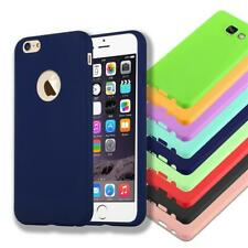 Silicone Case Cover For Apple Case Candy Color TPU Bumper Protection