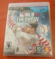 MLB 11 The Show Sony PlayStation 3 PS3 Baseball 4 Player Multiplayer Everyone