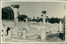France, Vaison la Romaine (Vaucluse), Ruines Romaines, 1955 Vintage silver print