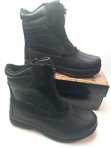 NORTIV 8 Men's Insulated Waterproof Hiking  Construction Winter Snow Sz 8 Boots