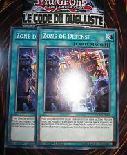 YU-GI-OH! COM ZONE DE DEFENSE X2 (PLAYSET) COTD-FR066 NEUF EDITION 1