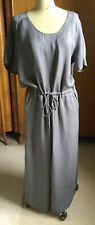 Poetry Women's Dress 18 Long Colour: Grey NWT