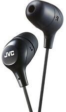 JVC HAFX38B Marshmallow Earphones Black