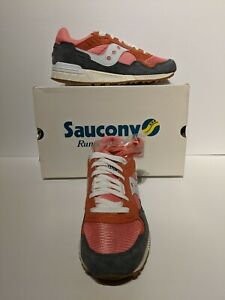 SAUCONY SHADOW VINTAGE 5000 MENS SNEAKERS SIZE 8.5 US,7.5UK,EURO 42  PINK & WHIT