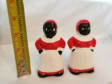 New ListingMammy Salt And Pepper Shakers 4inches Tall