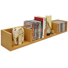 VIRGO - CD / DVD / Blu-ray / Video Media Wall Storage Shelf - Beech MS0015