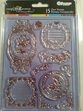 Clear Acrylic Stamps - ELEGANT FRAMES
