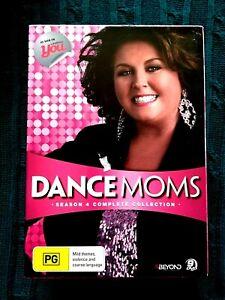 DANCE MOMS – SEASON 4 - COMPLETE COLLECTION - DVD, 9-DISC BOX SET- R-4- LIKE NEW