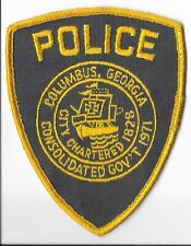 Columbus Police Department, Georgia Shoulder Patch