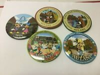 Lot of 5  Disney Aulani Resort Opening Day Button Pins & Anniversary 1, 2, 3, 4