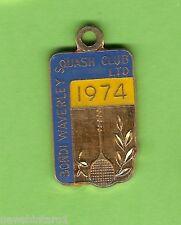#D229. Bondi Waverley Squash Club Member Badge 1974 #592 00004000