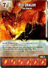 Dungeons & Dragons Dados Maestros Dragón Rojo-Epic Dragon, Super Raro