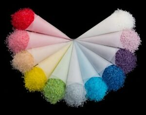 Biodegradable Wedding Tossing Confetti  Eco-Friendly 12 colors