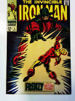 Iron Man #5 Marvel 1968 FN+ Silver Age Comic Book 1st Print