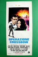 L04 Plakat Betrieb Crossbow Sophia Loren Peppard Howard Mills Courtenay