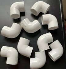 10 Pack LASCO 3/4-in x 90-Degree PVC Sch 40 Elbow PVC1 D2466 406-007   L